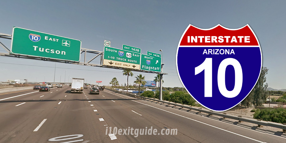 Arizona I-10 Construction | I-10 Exit Guide